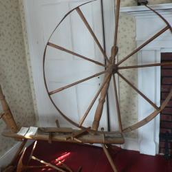 Wheel, Spinning
