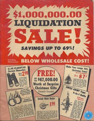 Catalog, Sales