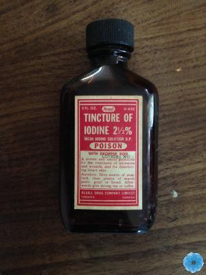 Bottle, Iodine