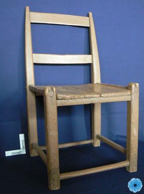 Chair, Slat-Back