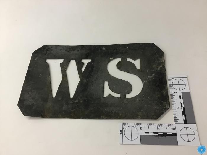 Stencil, metal