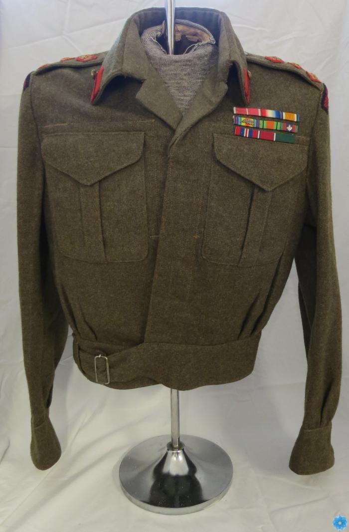 Jacket, Battle