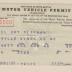 Motor Vehicle Permit